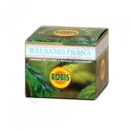 Bálsamo Prana Robis 60 cc. - El Bálsamo Prana de Robis es un eficaz ungüento a base de esencias de Clavo, Eucalipto, Menta y Romero cuyos principios activos naturales ayudan de forma sorprendente a aliviar dolores localizados y actúa también como balsámico de las vías respiratorias.