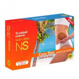 Coco Slim Aceite de Coco 1000 mg. Robis 45 cápsulas -