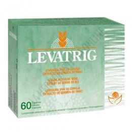 Levatrig Levadura viva de cerveza + Germen de Trigo Bioserum 60 cápsulas -