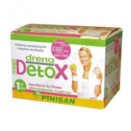 Drena Mega Detox Pinisan 6 viales - PRODUCTO DESCATALOGADO POR EL LABORATORIO FABRICANTE.