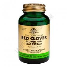 Red Clover Trebol Rojo Solgar 60 cápsulas vegetales -