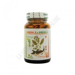 Omega-3 y Omega-6 Aceite de Borraja y de Salmón El valle 120 perlas -