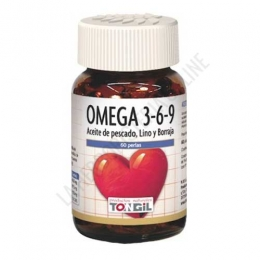 Omega 3 -  6 - 9 Tongil 60 perlas -
