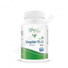 Omegalider 75% Omega-3 Naturlider 120 perlas -