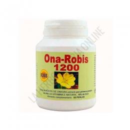 OnaRobis 1200 Aceite de Onagra + Vitamina E Robis 60 perlas -