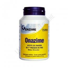 Onazime Aceite de Onagra 500 mg. Enzime 180 perlas -