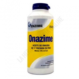 Onazime Aceite de Onagra 500 mg. Enzime 450 perlas -
