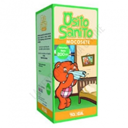 Osito Sanito Mocosete Tongil 200 ml. + 50 ml. más gratis - Osito Sanito Mocosete contiene ingredientes naturales que contribuyen a mantener limpias las vías respiratorias de los más pequeños.