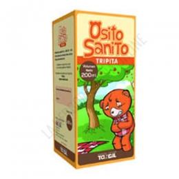 Osito Sanito Tripita Tongil 200 ml. + 50 ml. más gratis - Osito Sanito Tripita contiene ingredientes naturales que contribuyen al cuidado y al buen funcionamiento del aparato digestivo de los más pequeños.