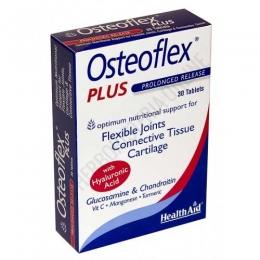 Osteoflex Plus con Ácido Hialurónico Health Aid comprimidos - Osteoflex Plus de Health Aid es una combinación única de Glucosamina de alta calidad, sulfato de coindroitina, ácido hialurónico y cúrcuma que contribuye al mantenimiento de unas articulaciones flexibles y un cartílago fuerte.
