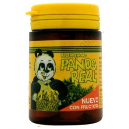 Xiongmao Panda Real Jalea Real con fructosa Integralia 40 comprimidos masticables -