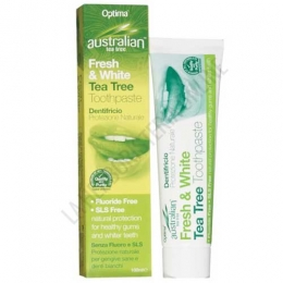 Dentífrico natural Australian Tea Tree Fresh & White Optima 100 ml.