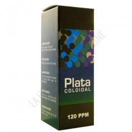 Plata Coloidal 120 ppm Argenol  60 ml.