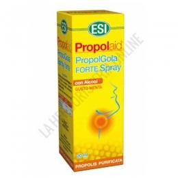 Propolgola Forte Spray ESI - Propolgola Forte Spray ESI a base de extracto de Própolis en solución hidroalcohólica y menta, proporciona un alivio eficaz ante las molestias de la garganta irritada y de la cavidad oral.
