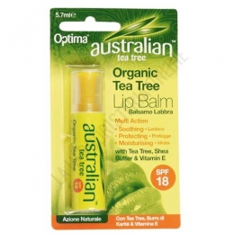 Protector labial Australian Tea Tree Optima SPF18