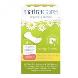 Protege Slips curved anatómicos algodón orgánico Natracare 30 uds. -