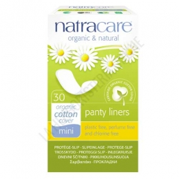 Protege Slips mini naturales Natracare 30 uds. -