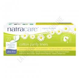 Protege Slips ultra finos algodón orgánico Natracare 22 uds. -