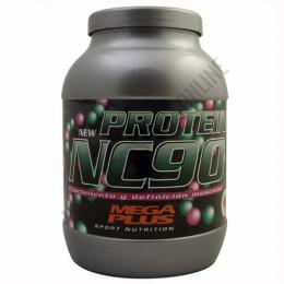 Protein NC90 Megaplus sabor chocolate 1 Kg. - Protein NC90 Mega Plus es un preparado a base de proteínas de leche de alta calidad (caseinato cálcico) que incorpora una proporción adecuada de vitaminas y un alto nivel de calcio, hierro y magnesio.