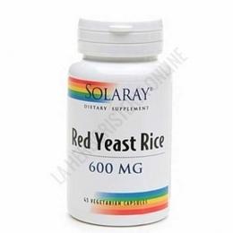 Red Yeast Rice Solaray (arroz de levadura roja) 45 cápsulas -