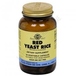 Red Yeast Rice (arroz de levadura roja) 600 mg. Solgar 60 cápsulas