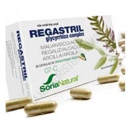 Regastril 7-C Soria Natural 60 cápsulas - Regastril de Soria Natural es una composición a base de Regaliz, Malvavisco y Arcilla, especialmente útil en caso de sufrir molestias gastrointestinales.