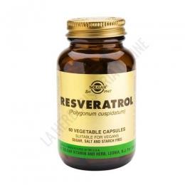 Resveratrol 100 mg. Solgar 60 cápsulas vegetales