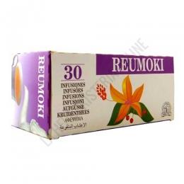 Reumoki 30 infusiones Laboratorios Abad (anteriormente Kiluva) - Reumoki de Kiluva es una formulación específica de plantas que ayuda a calmar las afecciones reumáticas como la artritis y la artrosis. PRODUCTO DESCATALOGADO POR EL LABORATORIO FABRICANTE.
