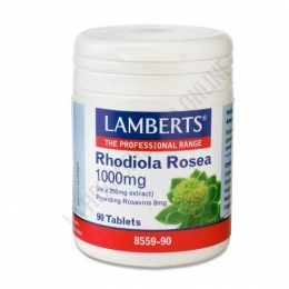 Rhodiola Rosea 1000 mg. Lamberts 90 comprimidos