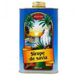Sirope de Savia Madal Bal 1 litro - El Sirope de Savia Madal Bal, sirope de Arce grado C y Palma, contiene la proporción adecuada de nutrientes y sustancias necesarias para realizar la Cura depurativa del Sirope de Savia y el zumo de limón.