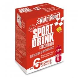 SportDrink Concentrado limón Nutrisport limón 6 sobres - Sport Drink Concentrado de Nutrisport es una bebida concentrada de vitaminas, minerales e hidratos presentada en 6 sobres individuales de cómoda preparación.
