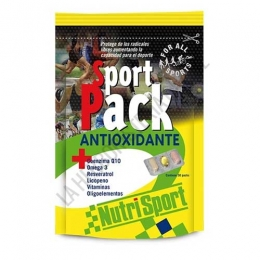Sport Pack Antioxidante Nutrisport 30 packs