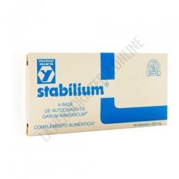 Stabilium Laboratorios Abad (anteriormente Kiluva) 30 cápsulas - Stabilium de Kiluva es un compuesto específicamente formulado para ayudar al organismo a combatir el estrés y el cansancio físico e intelectual.