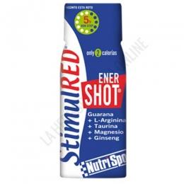 StimulRed EnerShot 5 horas non stop Nutrisport botellita 60 ml.