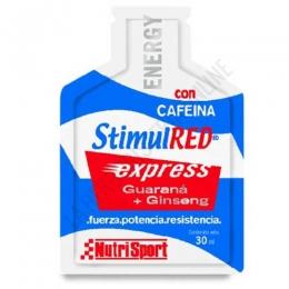 StimulRed Express gel Nutrisport sobre 30 ml.