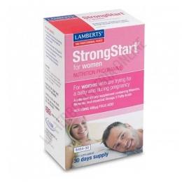 StrongStart para mujeres Lamberts 30 cápsulas + 30 comprimidos -