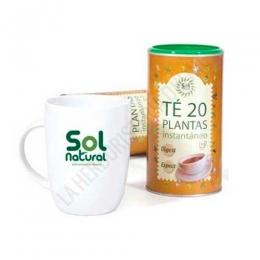 Infusión instantánea Té 20 plantas Solnatural 190 gr. -
