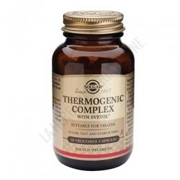Thermogenic Complex a base de Café Verde Solgar 60 cápsulas - Thermogenic Complex de Solgar es una formulación a base de Svetol® (extracto de café verde no tostado con menos del 2% de cafeína), Biperine® y Chromax®.