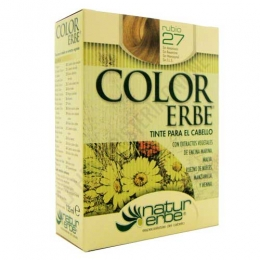 Tinte vegetal Color Erbe sin amoniaco - 27 RUBIO
