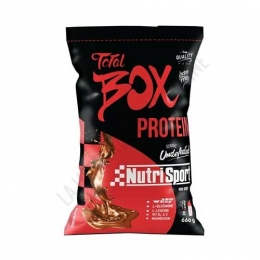Total Box Protein sabor chocolate Nutrisport 660 gr. -