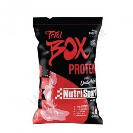 Total Box Protein sabor fresa silvestre Nutrisport 660 gr.