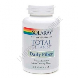Total Cleanse Daily Fiber Solaray 120 cápsulas -