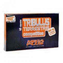 Tribulus Terrestris Competition Mega Plus 48 cápsulas - Tribulus Terrestris Competition de Mega Plus es una alternativa natural que contribuye al aumento de la masa muscular a través del aporte indirecto de testosterona sin causar daños en nuestro organismo.