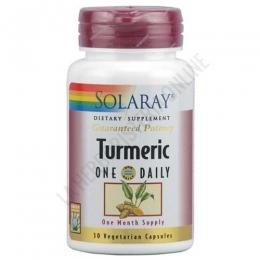 Turmeric curcuma Solaray 30 cápsulas -