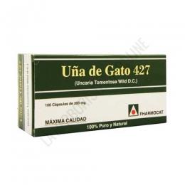 Uña de gato 427 Fharmocat 100 cápsulas -