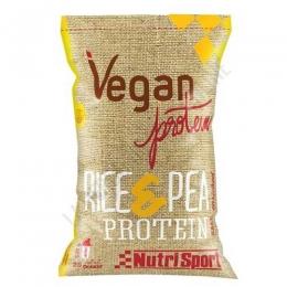 Proteinas Vegan Protein sabor Cappucino Nutrisport 520 gr. -