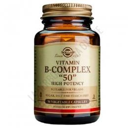 B50 Complex Alta Potencia Solgar 50 cápsulas -