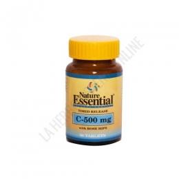 Vitamina C 500 mg. con Rose Hips Nature Essential 50 comprimidos