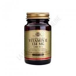 Vitamina E 200 UI (134 mg.) Solgar 100 cápsulas blandas