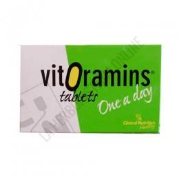 Vitoramins energía y vitalidad CN Dietéticos 36 comprimidos -